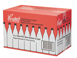Coopers 15 by 740ml PET Bottles