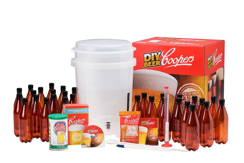 Coopers HomeBrew Beer starter kit