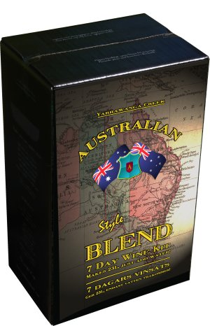 Australian Blend Merlot Blush Rose Wine Kit