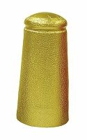 Brouwland Aluminium Capsules Beer 34 x 90 mm Gold 25 Pack