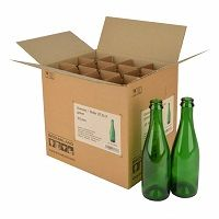 Brouwland Geuze / Cider Bottle 375ml, Green 29 mm CC, Box Of 12