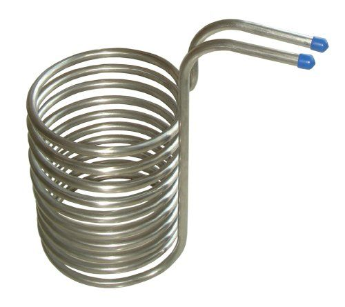 bulldog brewer stainless steel wort chiller 12mm diameter fits standard garden hose - Garden Hose Diameter