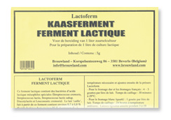 Cheese Culture LACTOFERM for 1 Litre