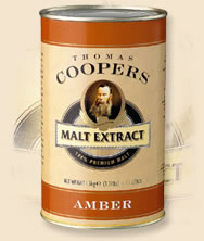 Coopers Malt Extract Amber 1.5kg
