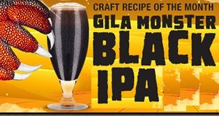 Gila Monster Black IPA (8.5 Litres)