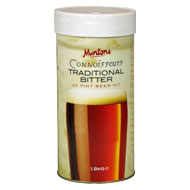 Muntons Connoisseur's 1.8 Kg Traditional Bitter Beer Kit