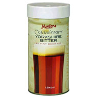 Muntons Connoisseur's 1.8 Kg Yorkshire Bitter Beer Kit
