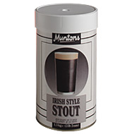 Muntons Premium Irish Stout 1.5 Kg Beer Kit