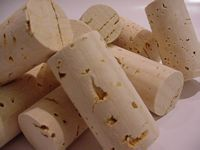 Tapered Corks Delux, Pack of 30 by 23x37 mm HB No Soak Corks