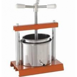 Torchietto 2.5 Litre Italian Stainless Steel Fruit Press 12 cm Diameter