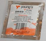 Young's Beer Yeast Sachet 5grm (Up to 5gall)