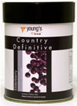 Young's Definitive Country Elderberry Wine Kit 6 Bottle